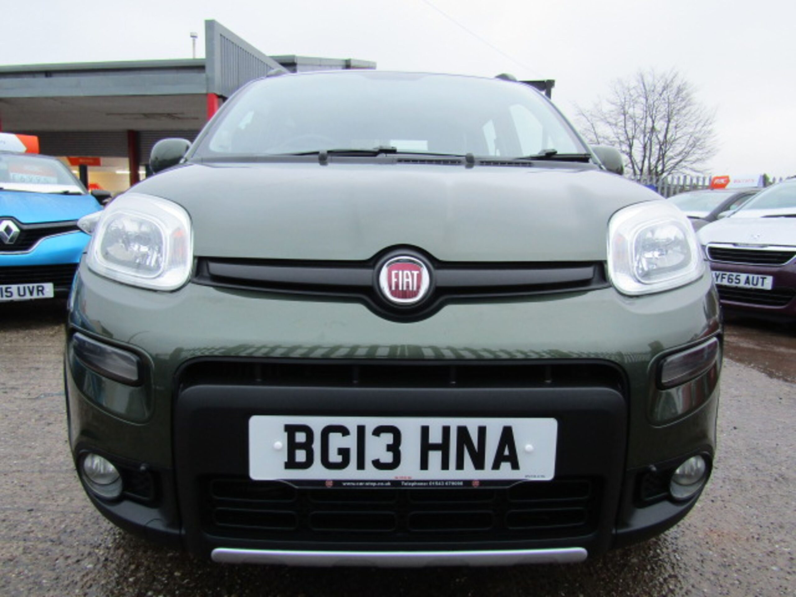2013 13 Fiat Panda 4x4 0 9 Twin Air Van Stop